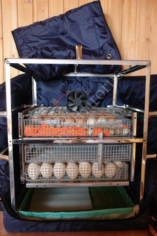 ТГБ-210 БИО металлический на 210 яиц