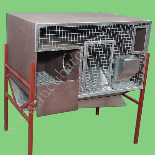 Клетка для кроликов с маточником