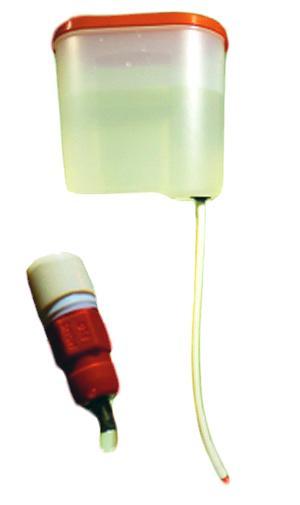 Поилка ниппельная с гибким удлинителем