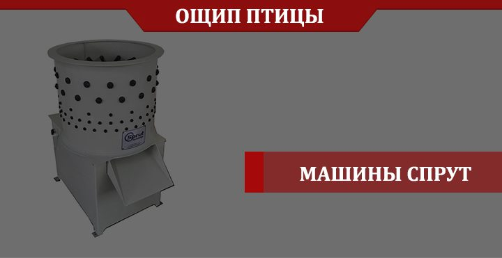 Обзор перосъемной машины Спрут