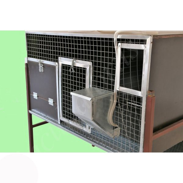 Клетка для кроликов для самки с приплодом (ККР-9)