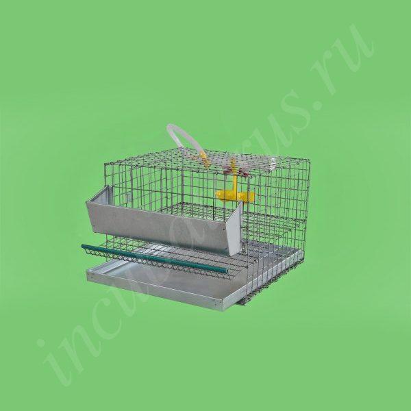 Клетка для перепелов на 10 голов (1 ярус) (КП-10)
