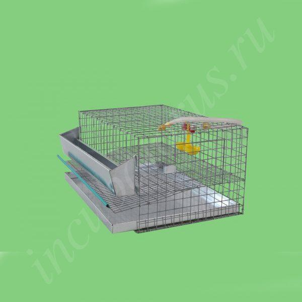 Клетка для перепелов на 15 голов (1 ярус) (КП-15)