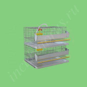 Клетка для перепелов на 30 голов (2 яруса) (КП-30-2я)