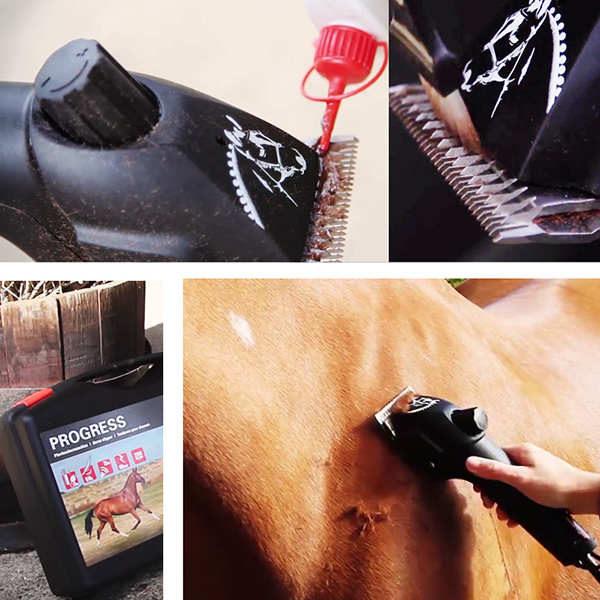 Машинка для стрижки лошадей heiniger progress