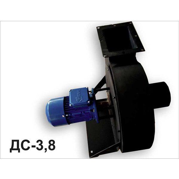 Дымосос 1500 Вт 380В правого исполнения (ДС-3,8-380-1500)