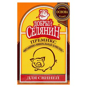 «Добрый селянин» для свиней на откорме 150