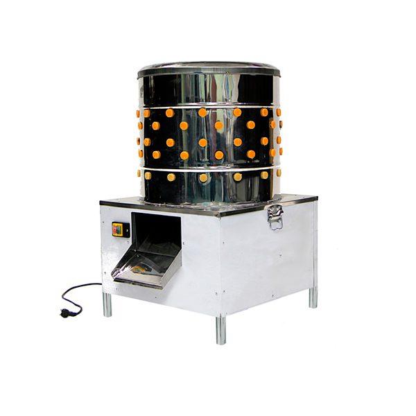 Перосъёмная машина nt-600wf для бройлеров с подачей воды