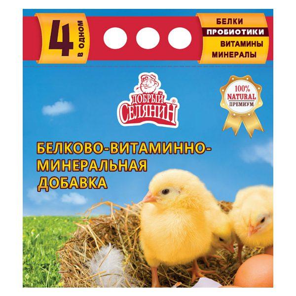 «Добрый селянин» для молодняка сельскохозяйственной птицы с пробиотиком 1700