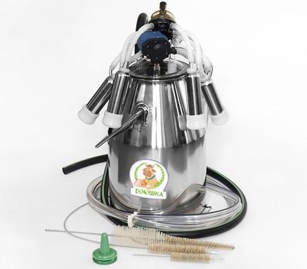 Доильный аппарат Доюшка Эконом 1С (нерж. попарный пульс)