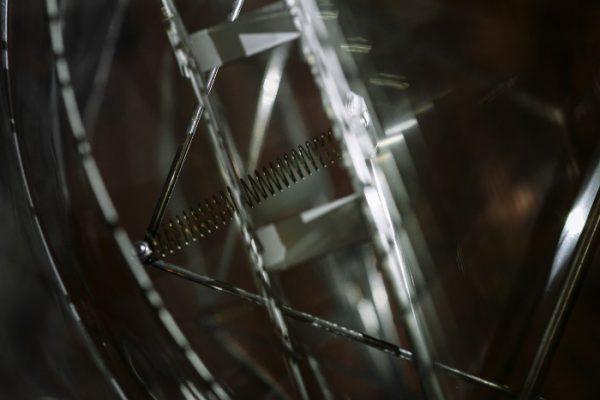Медогонка Донская пчела, оборотная, ротор 2-х рамочный, нержавейка (Копировать)