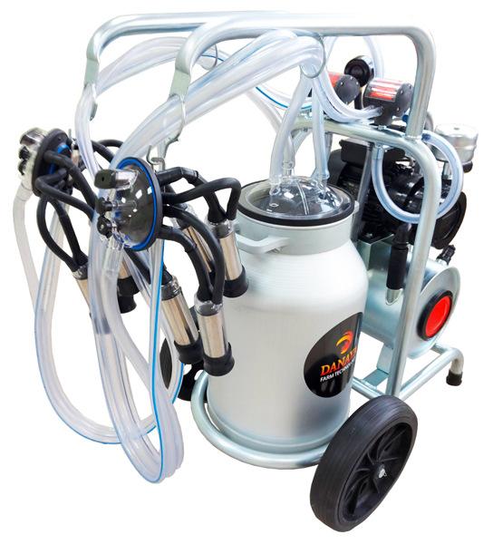Доильный аппарат danaya для 2-х коров
