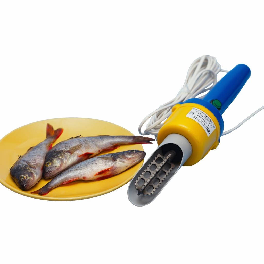 Чистилка для рыбы электрическая своими руками